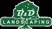 B & D Landscaping Logo